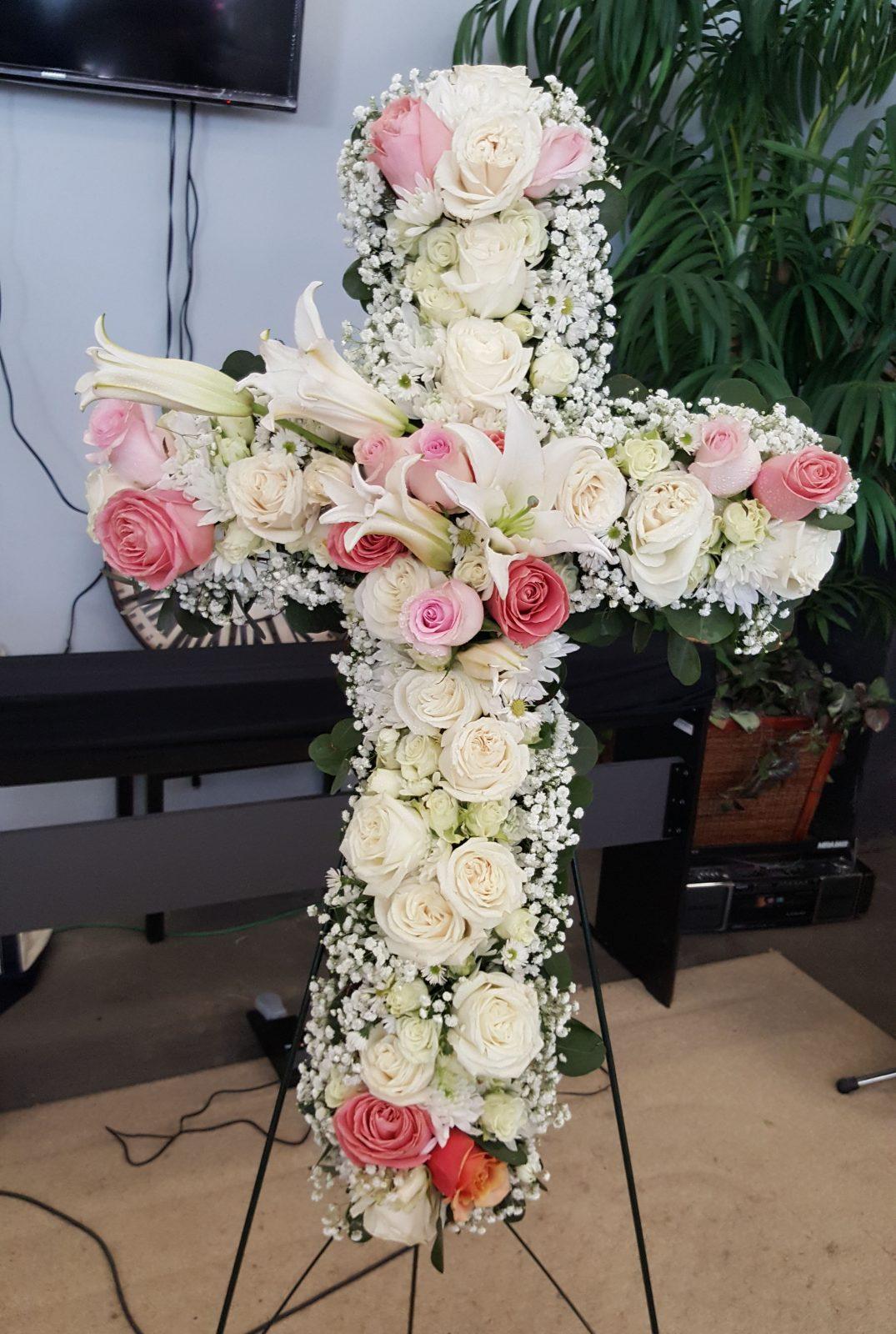 Funeral wreathcross 11 sharon floral funeral wreathcross 11 izmirmasajfo Image collections